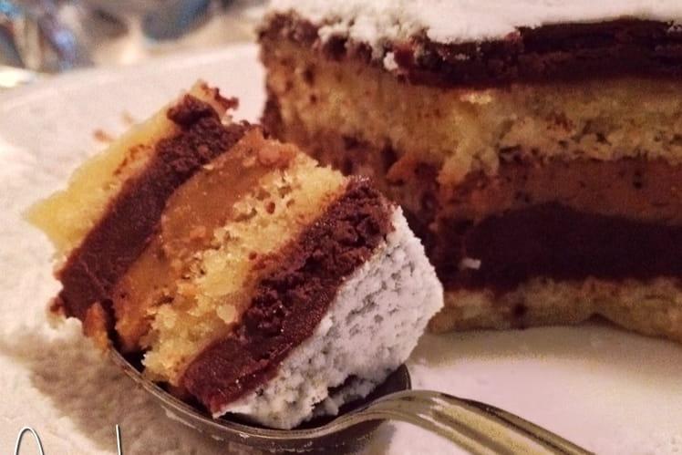 Gâteau L'Opérette chocolat-café