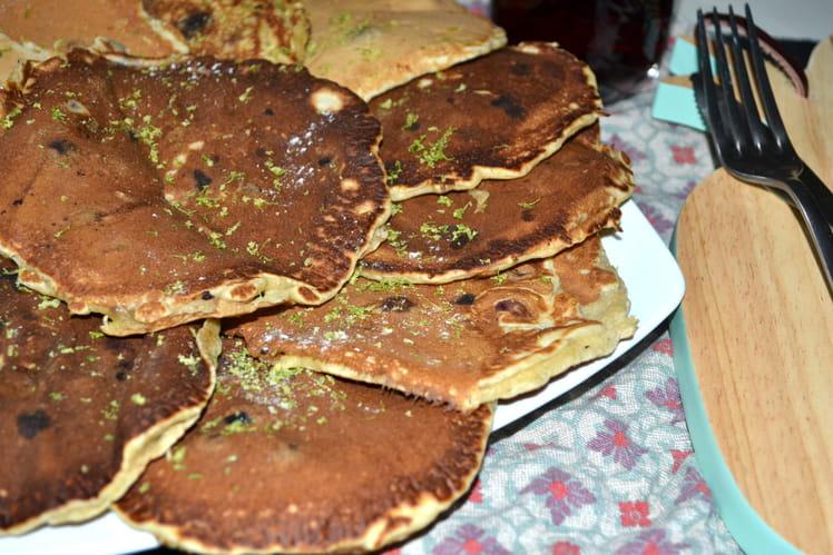 Pancakes citron myrtilles de Glee