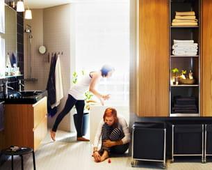 meubles de salle de bains godmorgon d'ikea