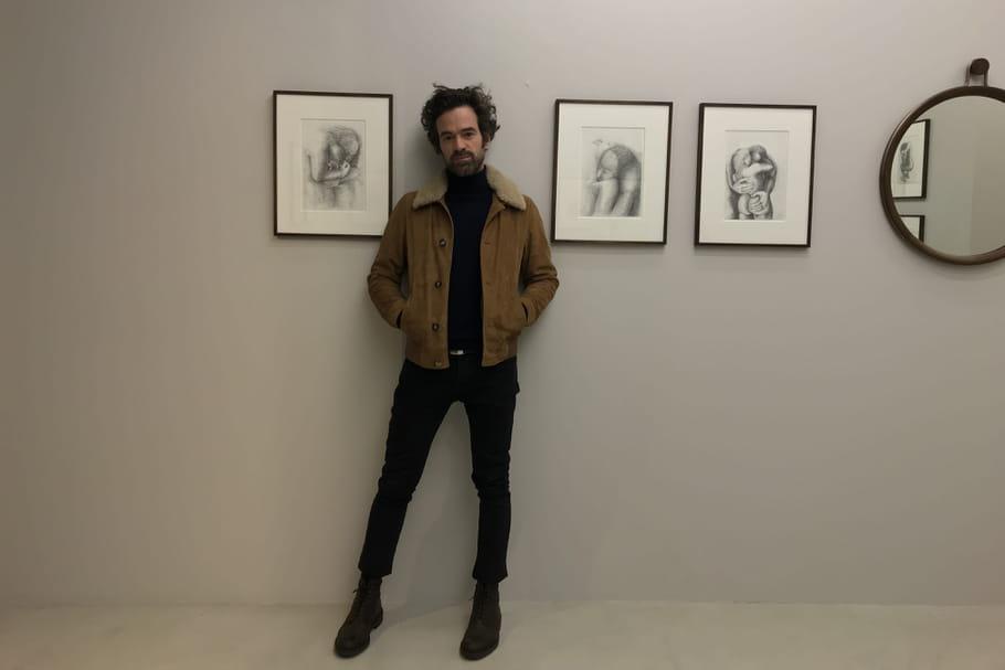 À la rencontre de Romain Duris, l'artiste au coup de crayon Féroce