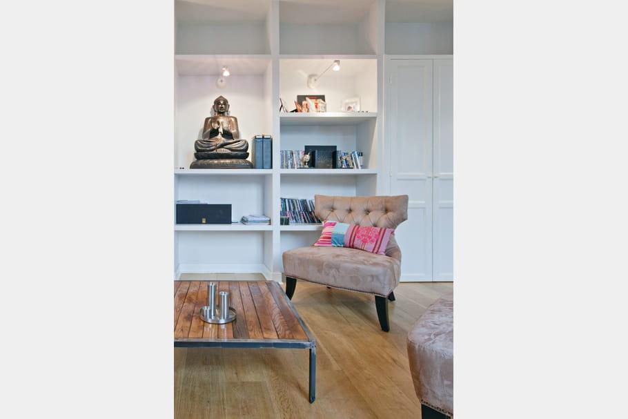 Un salon tout simple