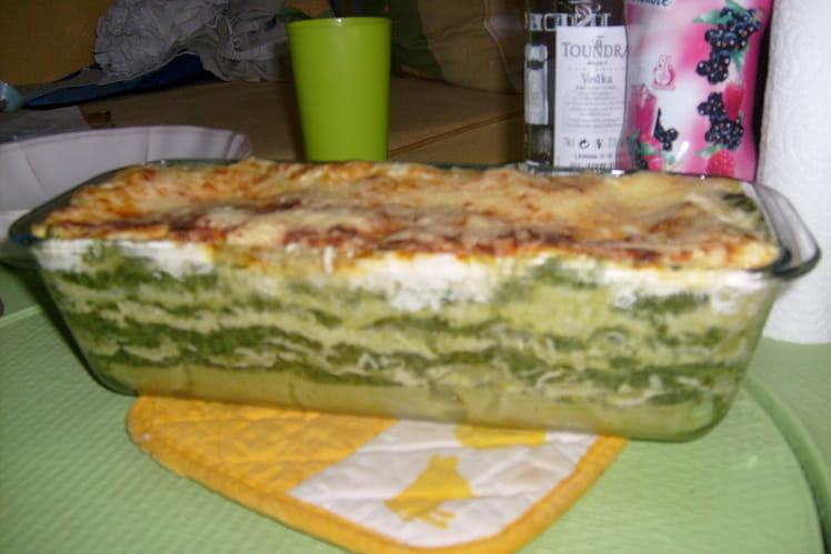 Lasagnes épinards et chèvre