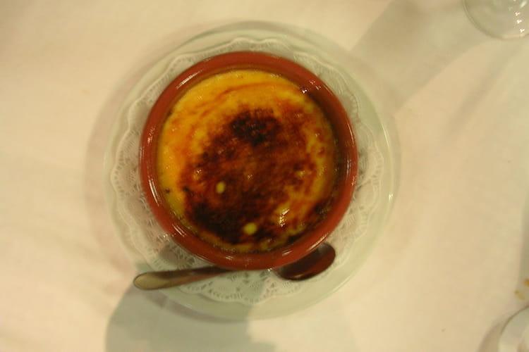 Crème catalane au citron