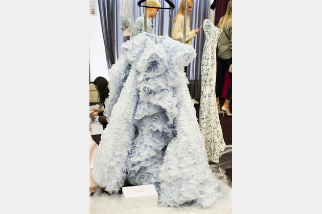 Ralph & Russo (Backstage) - Automne-Hiver 2016-2017