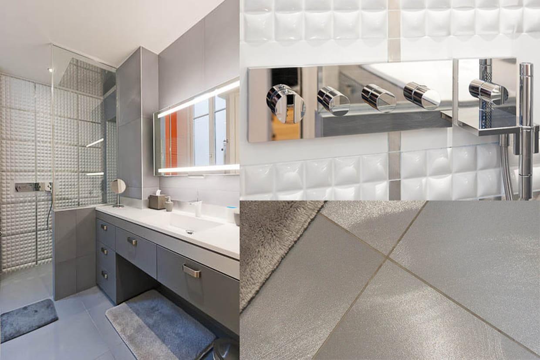 une salle d 39 eau masculine. Black Bedroom Furniture Sets. Home Design Ideas