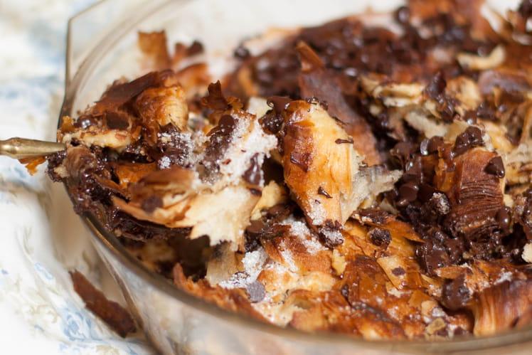 Croissants perdus caramel et chocolat