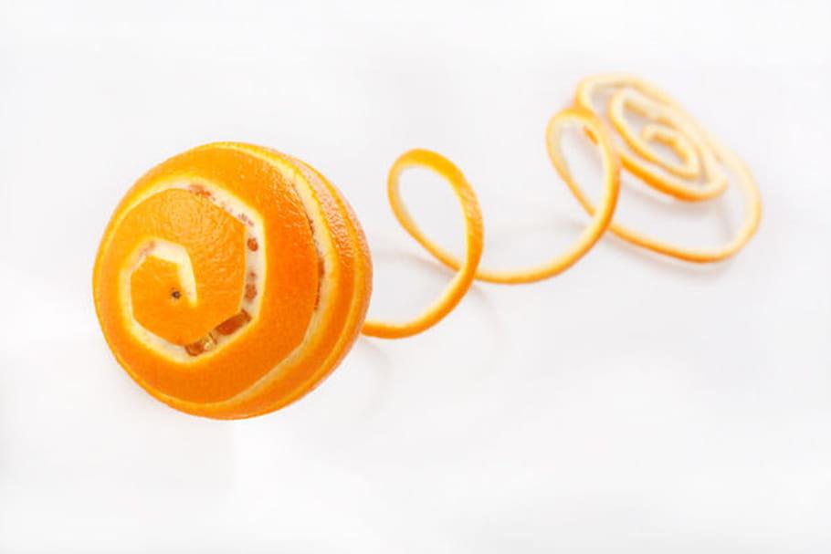 Comment peler à vif une orange ?
