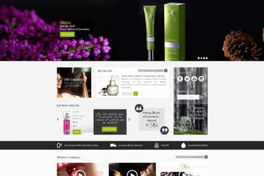 IXXI Cosmetics lance sa première e-boutique