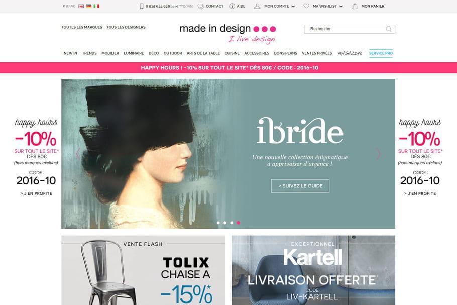 Acheter sur le site Made In Design