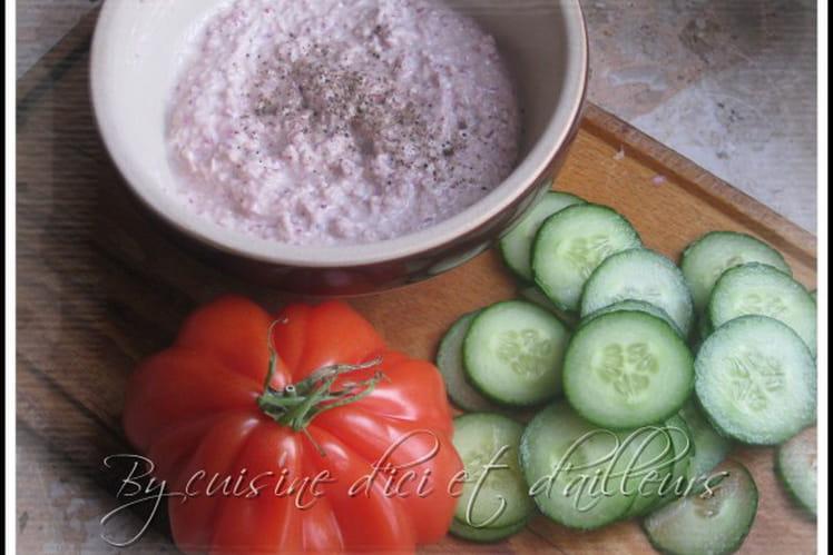 Tartinade de radis & thon au fromage frais