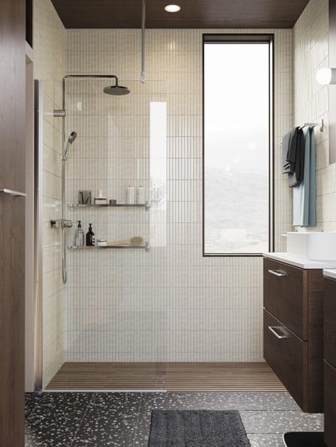 Salle de bains IKEA en mode zen