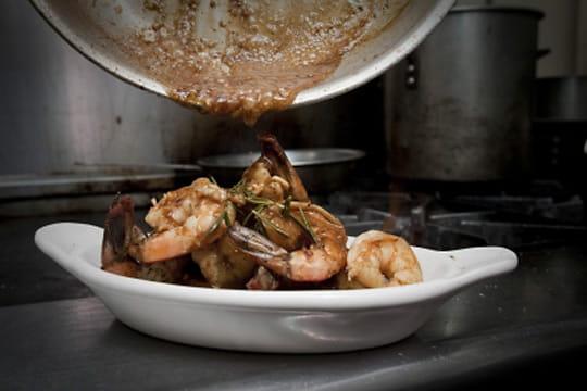 Crevettes par Kim Badawi