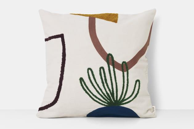 Coussin Mirage Cacti par Ferm Living