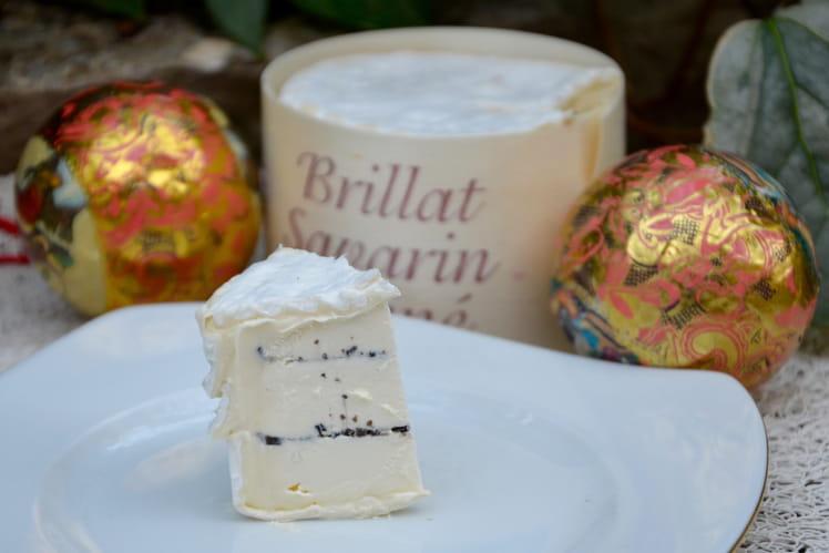 Fromage Brillat savarin truffé