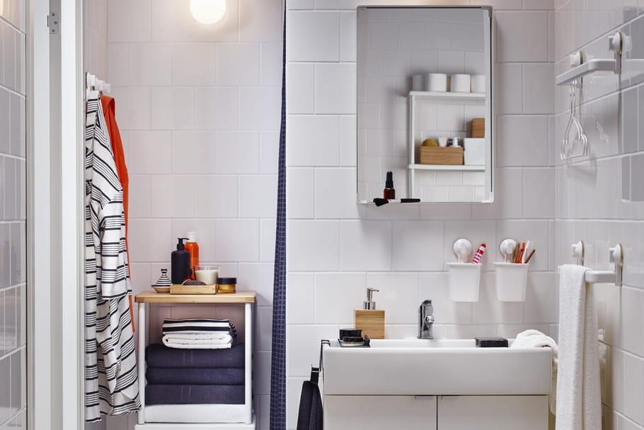 Petite salle de bain: conseils et photos pour bien l'aménager