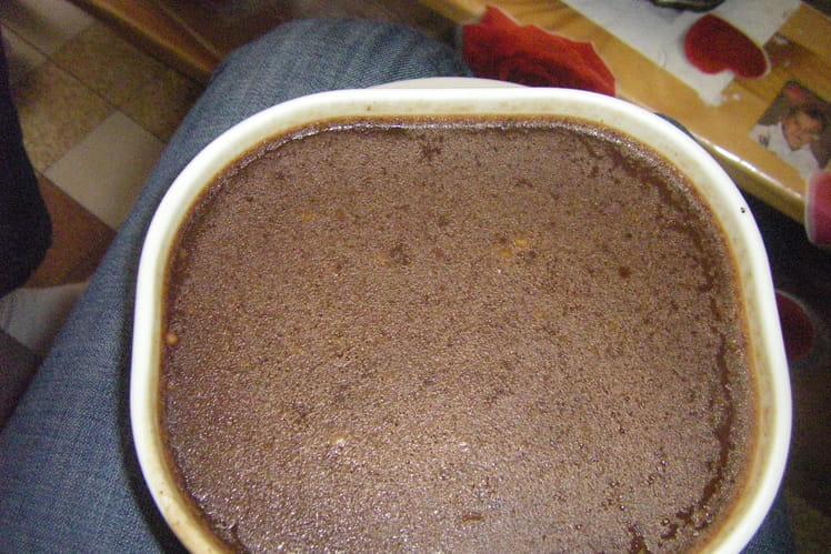 Flan au chocolat maison