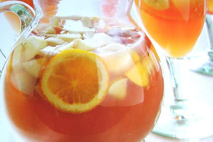 Sangria blanche : la meilleure recette