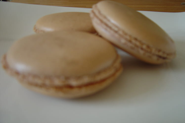 Parfaits macarons au chocolat maison