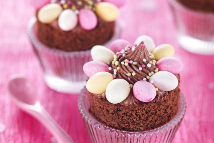 Muffins façon nids de Pâques