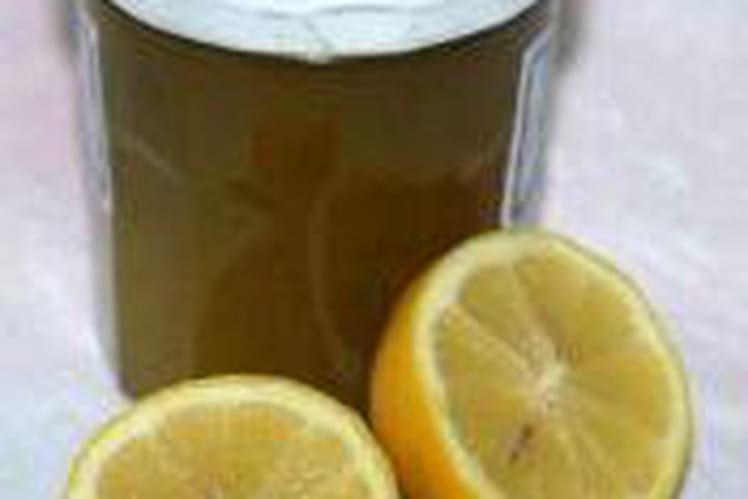 Confiture de 2 courgettes au citron