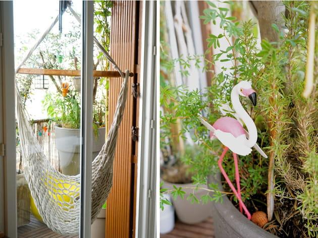 Balcon exotique