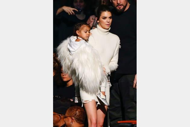 North West et Kendall Jenner