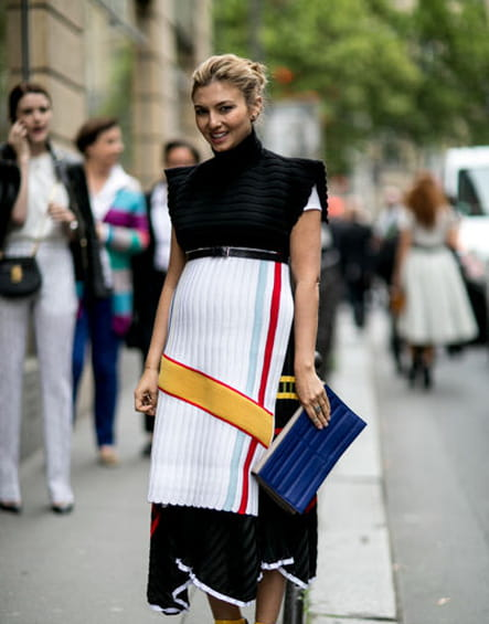 Street looks fashion week haute couture : arty