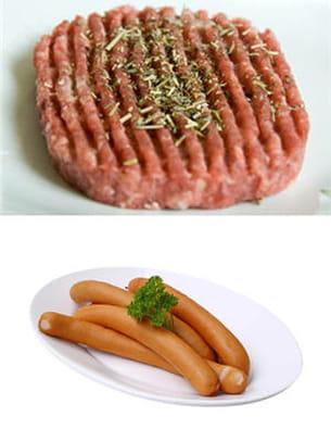 steack haché ou saucisse ?