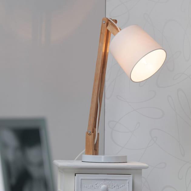 La lampe de chevet bi-matière