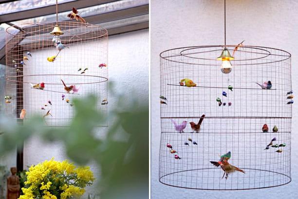Suspension d'oiseaux