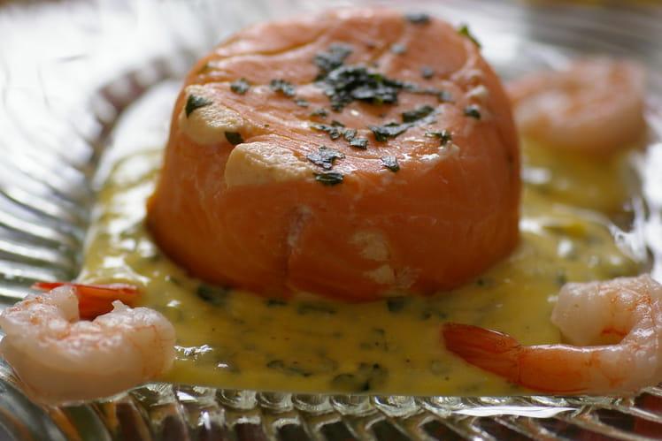 Mousse de poisson au saumon fumé
