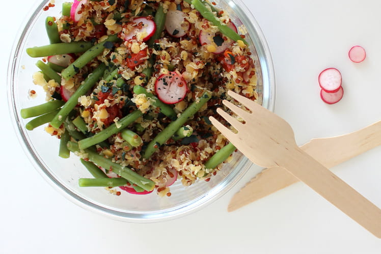 Salade Quinoa et Lentilles de Corail