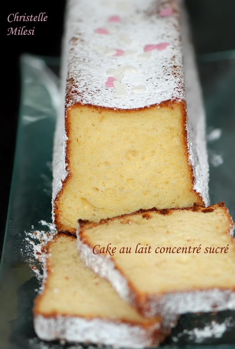 recette de cake au lait concentr sucr la recette facile. Black Bedroom Furniture Sets. Home Design Ideas