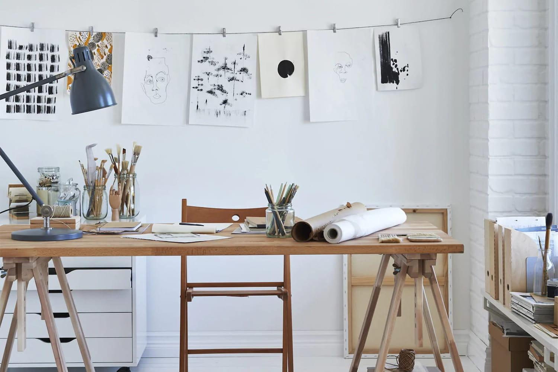 Comment créer un atelier inspiré et inspirant à domicile?