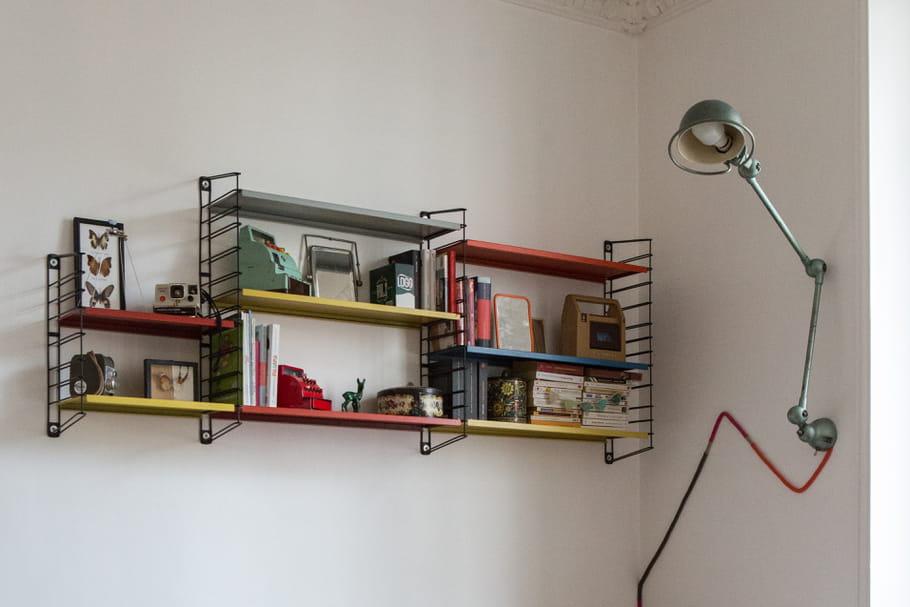 Installer une étagère