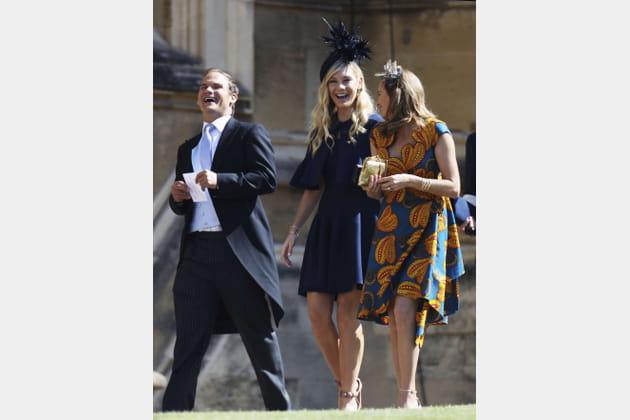 Chelsy Davy (au centre), l'ex du prince Harry
