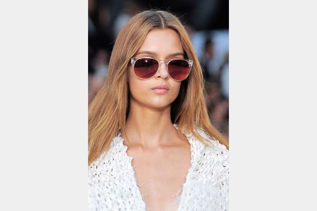Les lunettes transparentes de Tommy Hilfiger