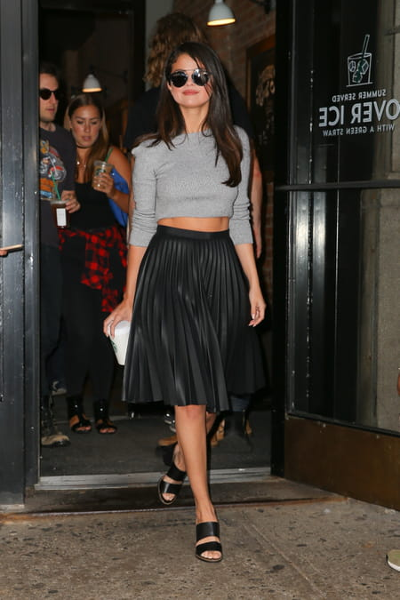 da39ab1f91 Selena Gomez à New York le 19 août 2015 © GSI/ABACA