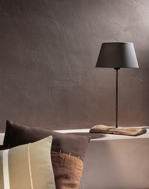 peinture effet sabl couleur taupe de la chaux pour leroy merlin. Black Bedroom Furniture Sets. Home Design Ideas