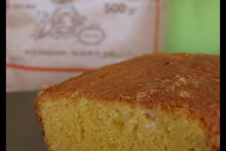 Cake au maïs bergamoté