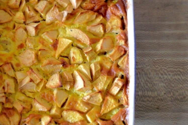 Tatouya (Clafoutis aux pommes)
