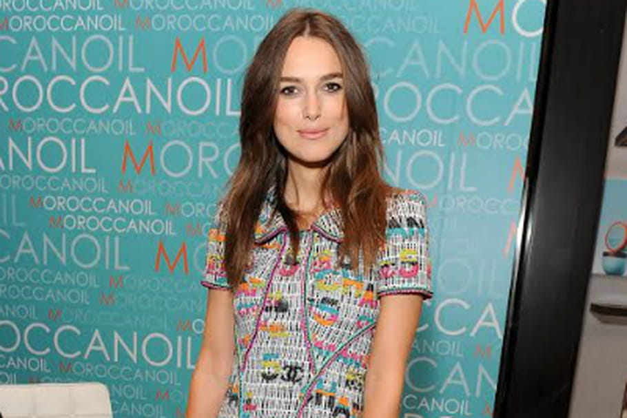 Le look people du jour : Keira Knightley, colorful