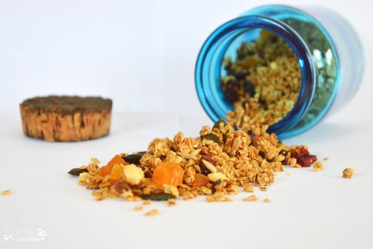 Granola au sirop d'érable