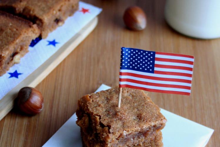 Brownie praliné et noisettes