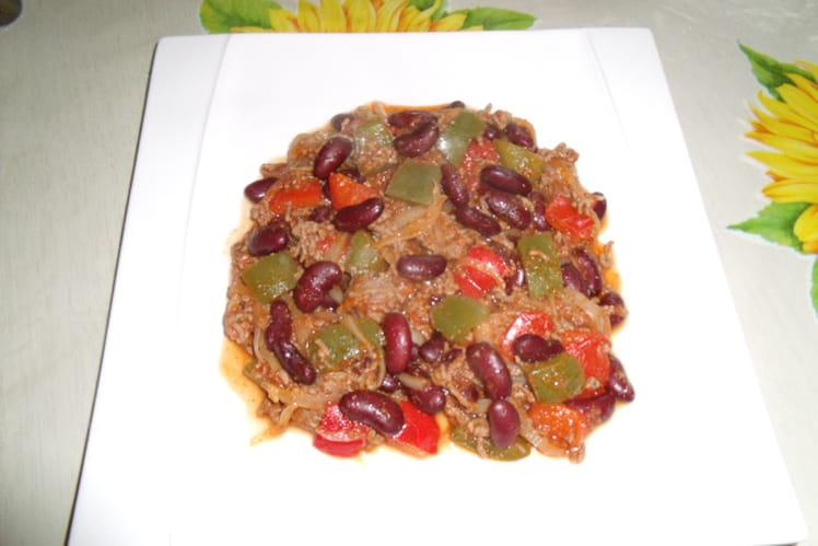Chili con carne irrésistible