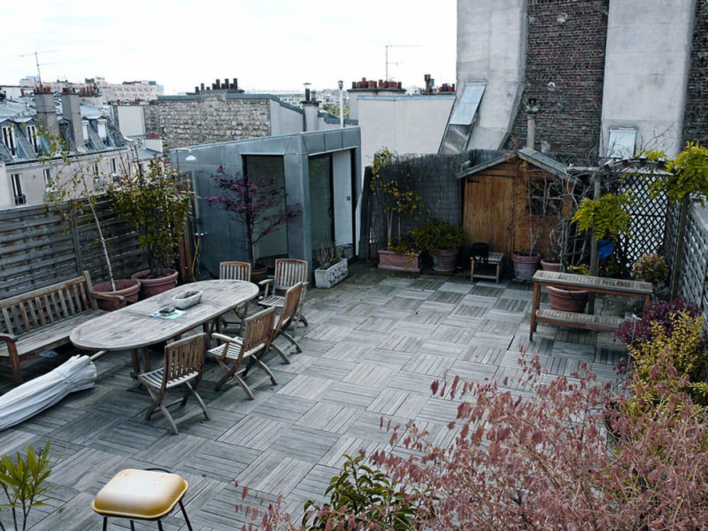 Avant une terrasse peu valoris e for Avant toit terrasse