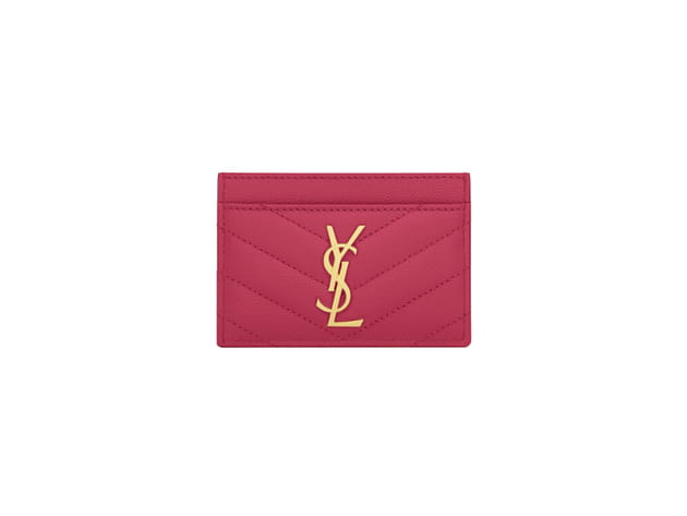 Porte carte monogramm de saint laurent for Porte carte ysl