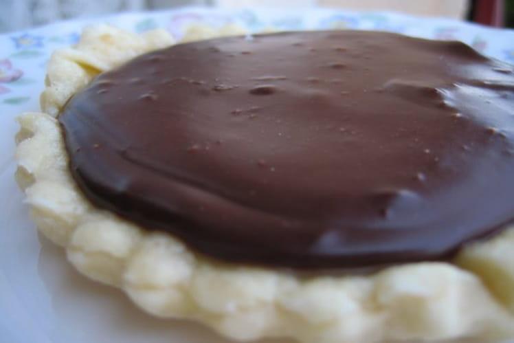 Tartelettes au chocolat et caramel salé