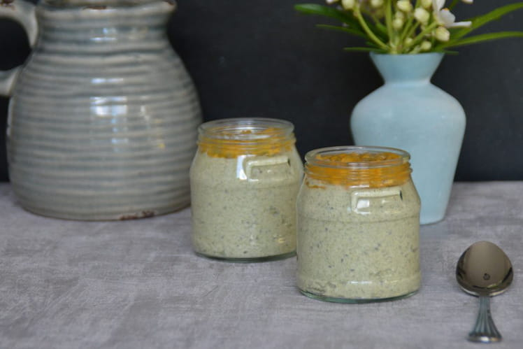 Fromage frais moringa, chia, coco, passion
