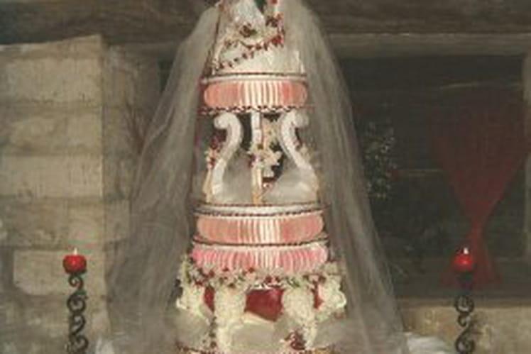 Pièce montée de mariage maison